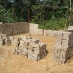 Besali classrooms under construction (2009)