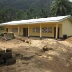 Ndumbin's brand new classrooms (2011)