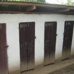 Ndumbin latrines