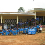Nsoko community with new classrooms (2014)