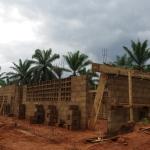 Bangang school under construction (2015)